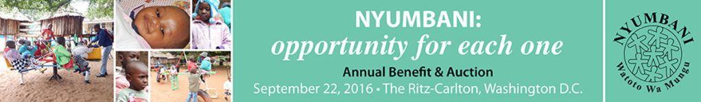 Save the Date! Nyumbani USA's Annual Benefit