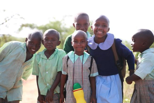 School Children at Nyumbani Village