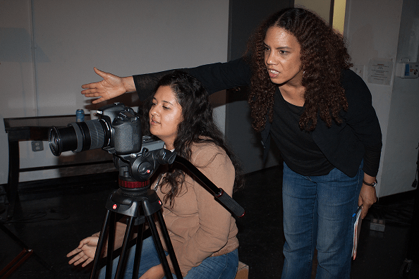 Tracy Daniels and Flor Tejada_Archive Day of Interviews