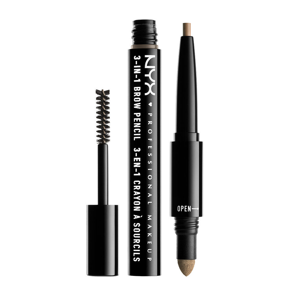 3 In 1 Brow Pencil NYX Professional Makeup
