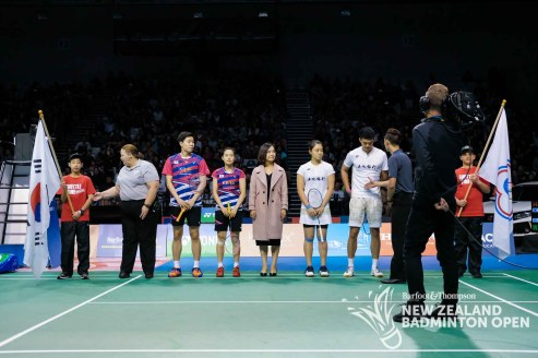 Wang Chi-Lin & Lee Chia-Hsin - Evan Xiao for Badminton NZ