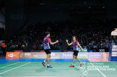 Wang Chi-Lin & Lee Chia-Hsin - Evan Xiao for Badminton NZ