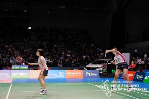 Sakuramoto / Takahata - Evan Xiao for Badminton NZ