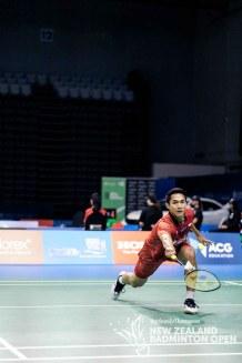 Jonatan Christie - Evan Xiao for Badminton NZ