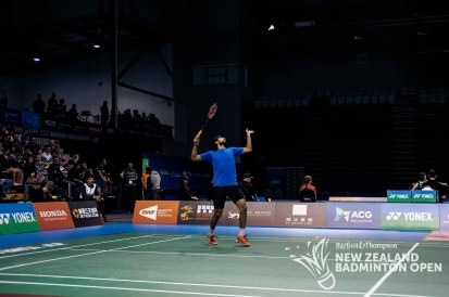 Sai Praneeth B - Evan Xiao for Badminton NZ