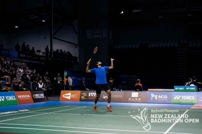 Sai Praneeth B - Evan Xiao for Badminton NZ