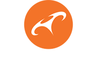 GFORCE paragliding logo white text