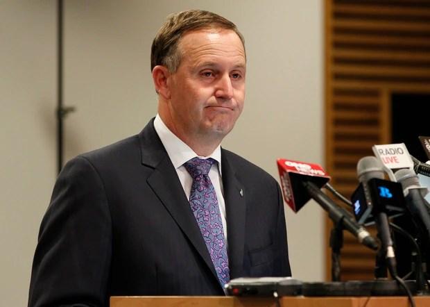 Prime Minister John Key days before apologising to Kim Dotcom over illegal GCSB spying.
