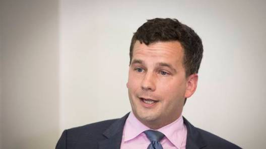 Act Party leader David Seymour at the launch of the #MyLifeMyChoice campaign in Auckland in February.