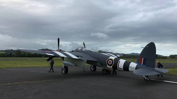 The 1945 Mosquito once flew for the RNZAF and will be one of just three still flying. Photo / Supplied