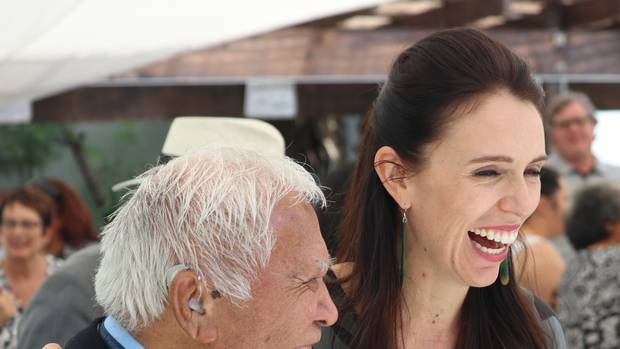 Labour appears to be downgrading its relationship with iwi elites with Jacinda Ardern spending time visiting small marae and meeting ordinary people. Photo / Peter de Graaf