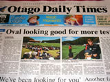 First issue of <em>Otago Daily Times</em> published