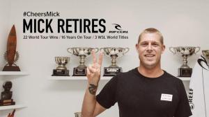 ミック・ファニングがついに引退!インタビュー動画詳細【サーフィン・ニュース】