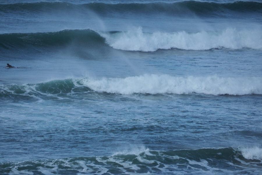 危険度が高いサーフィンの場合、自分の実力を過信しないことが大事