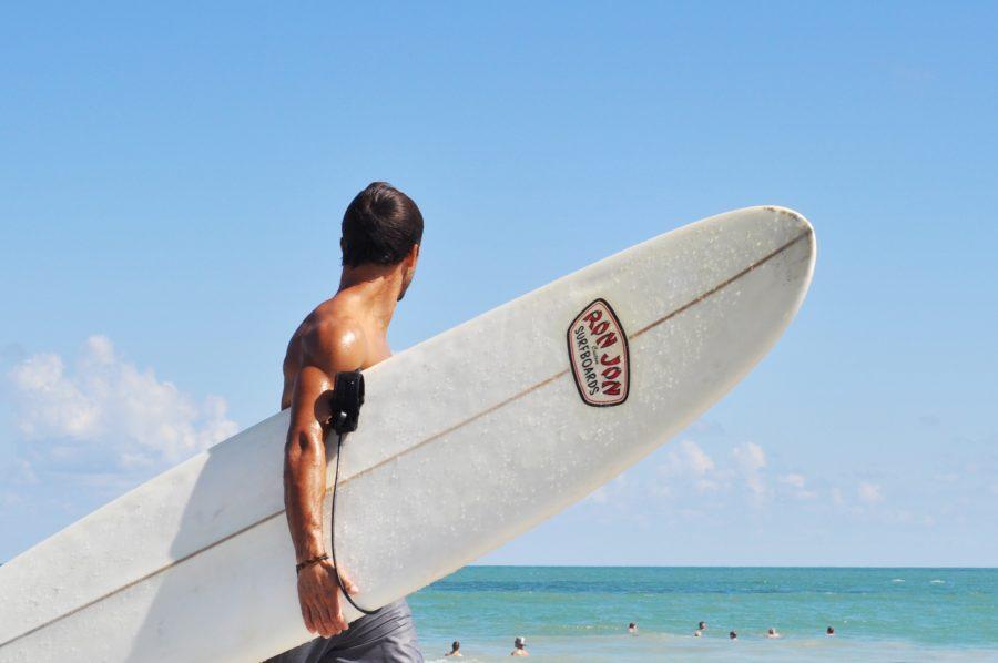 混雑時のサーフィンはリスクがあるので、いさぎよく諦めるのも一つの方法
