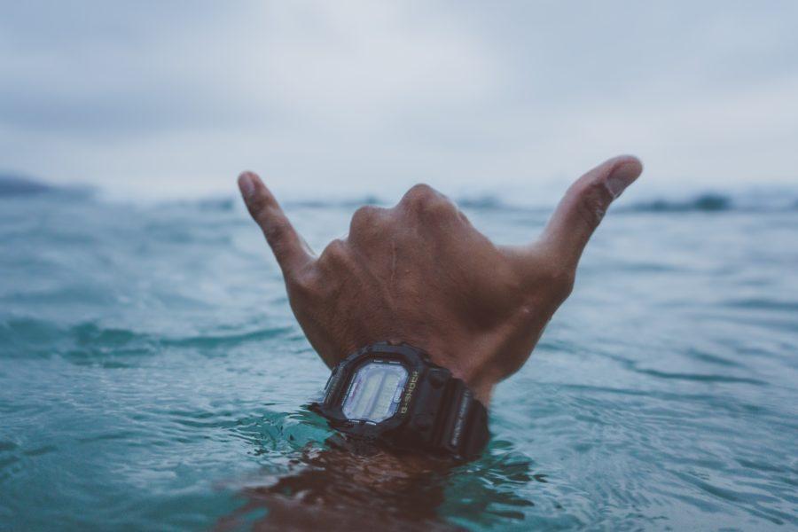 サーフィンで使われるジェスチャー【シャカ】の説明
