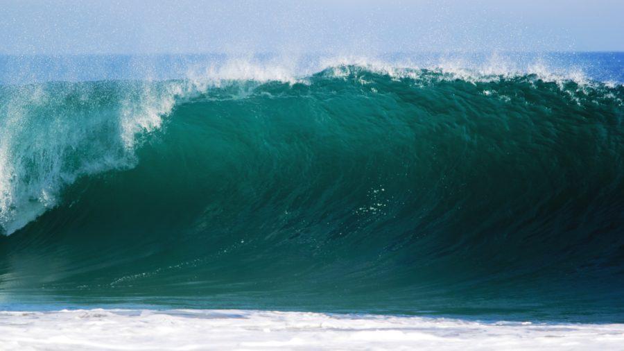 波の力を利用することが重要