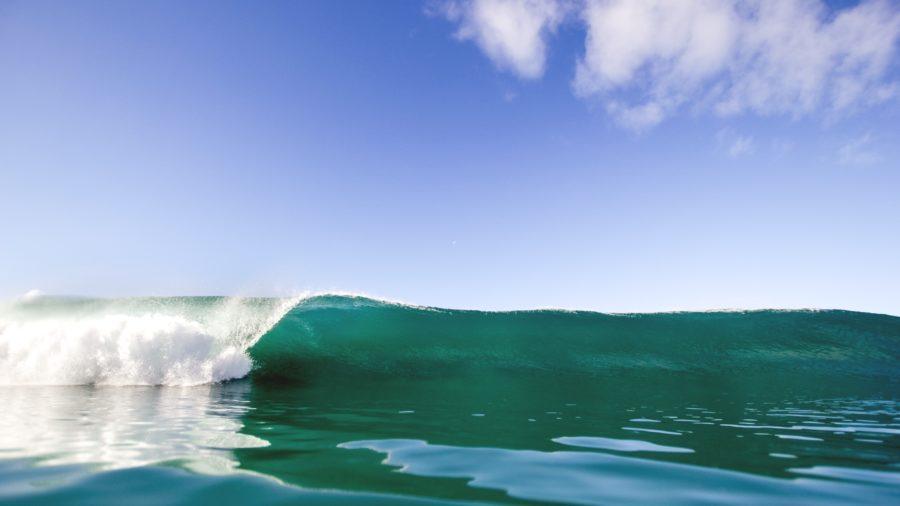 崩れる前の波であればダックダイブは簡単
