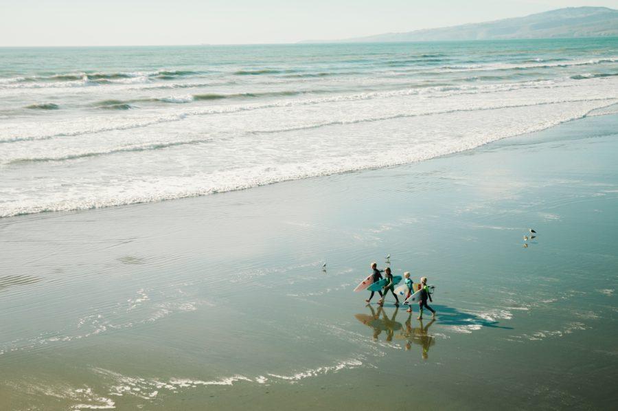 子供サーファーが自分よりサーフィンがうまいのはよくあることの1つ