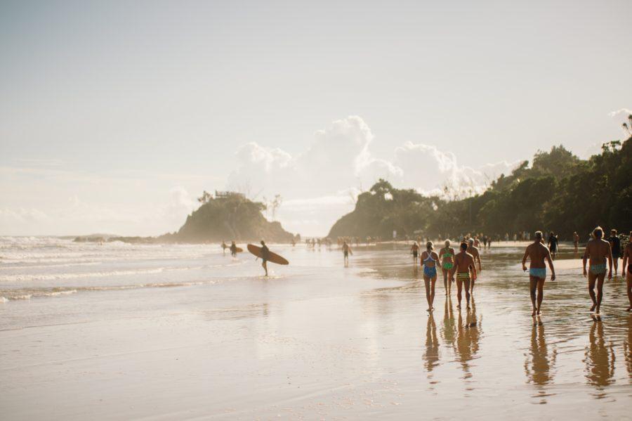 バイロンベイは音楽も楽しめるオススメのサーフィンスポットです