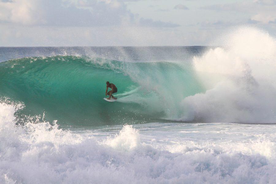 サーフィン荷重のかけ方(前足荷重か後ろ足荷重)