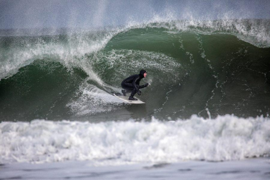 正しい足首の状態とサーフィンの姿勢