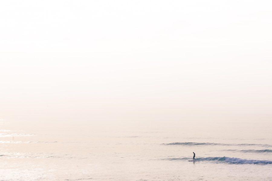 サーフィンはどんな波でも楽しめるもの