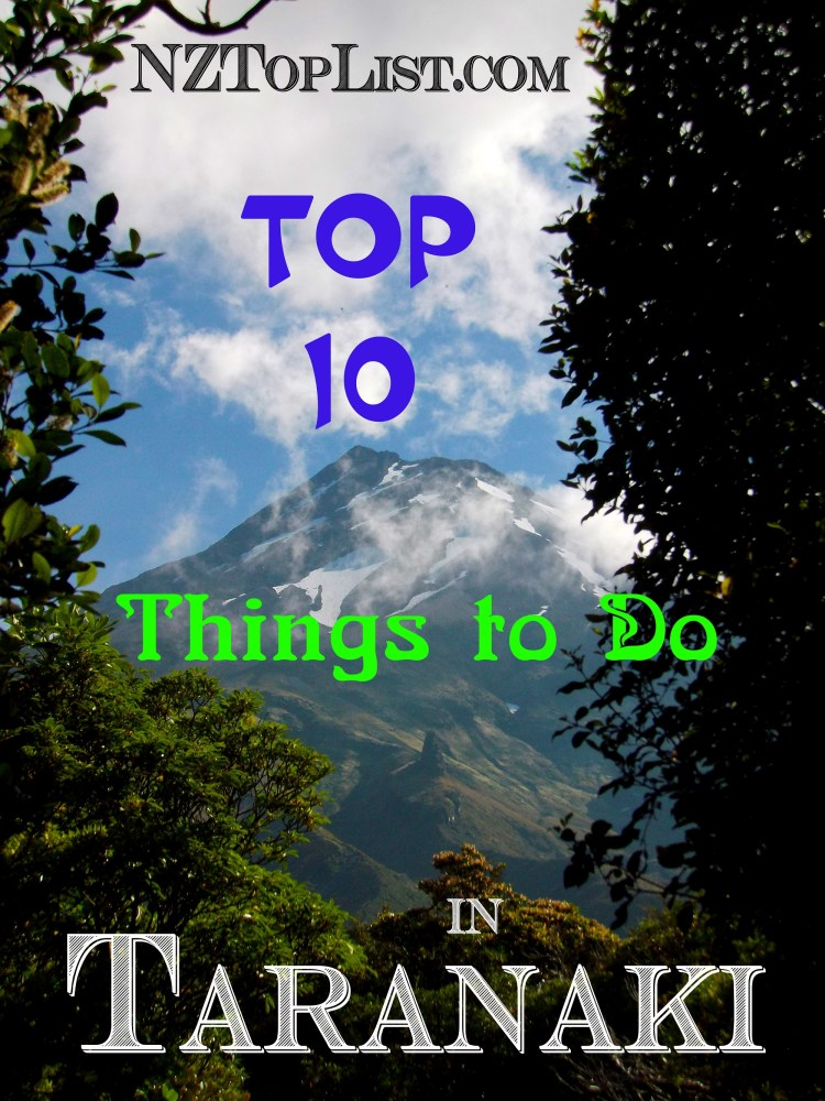 Top 10 Things to Do in Taranaki1
