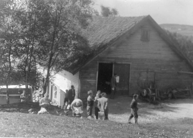 SI_sitt_løp_med_start_og_innkomst_Skjørestad_14_mai_1950