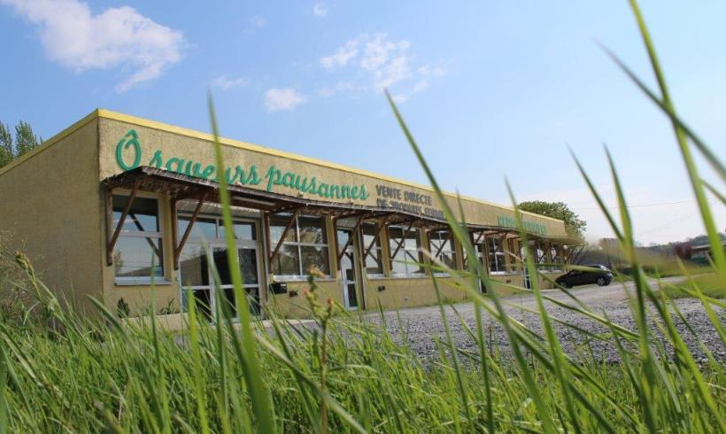 Ô Saveurs Paysannes, le magasin est ouvert tout l'été