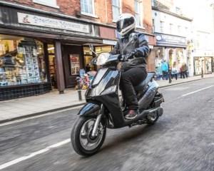 Riding Motorini WP 125