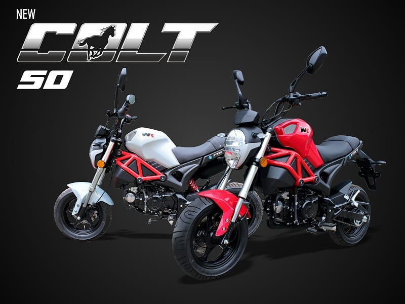 Learner-legal WK Colt 50 on sale! – on2wheels