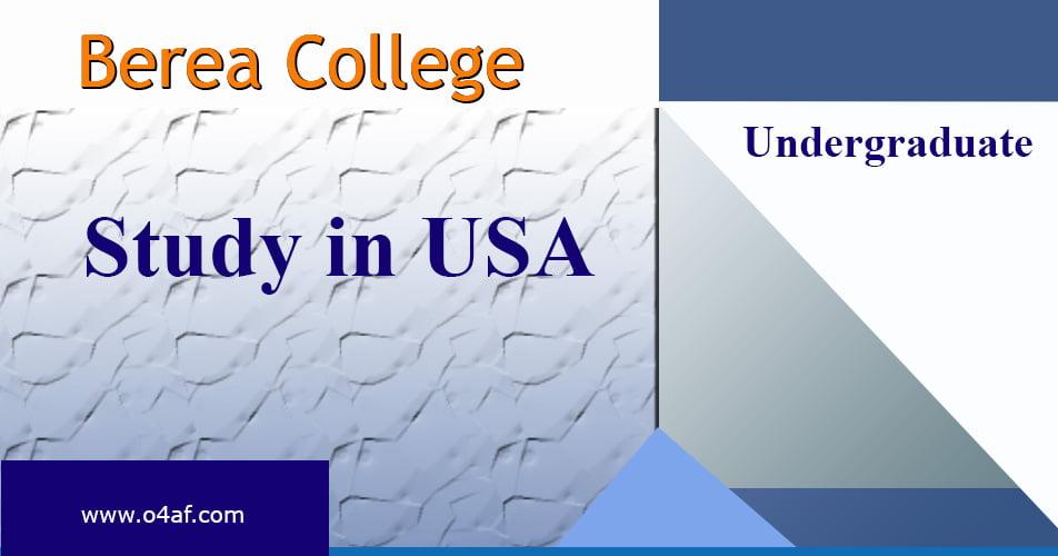 Berea College Essay Requirements