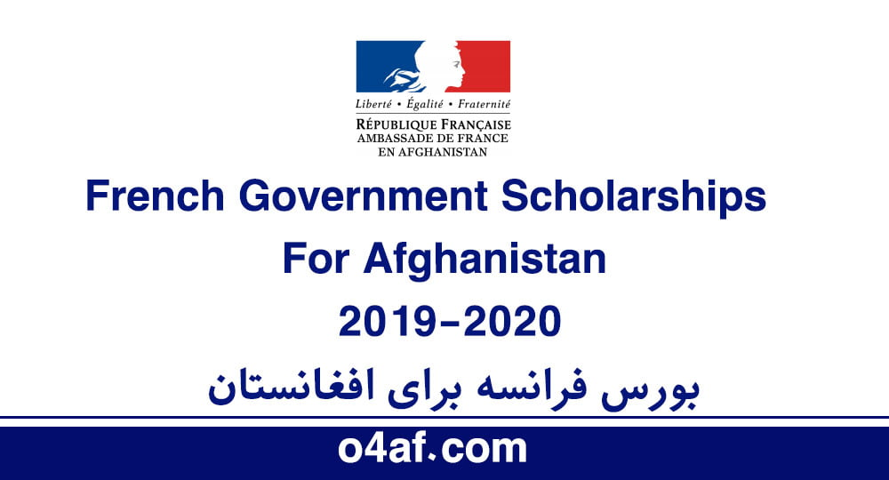 French Government Scholarships 2019-2020 for Master and PhD