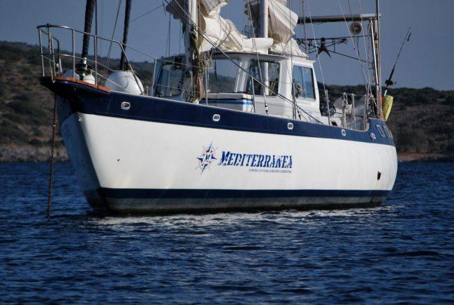 Mediterranea a Chios (foto archivio Progetto Mediterranea)