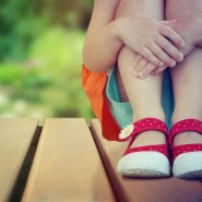 little girl's shoes