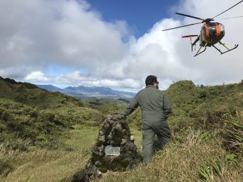Helicopter are not only used for aerial surveys but allow us to access remote locations, saving time and energy so we can get to surveying!