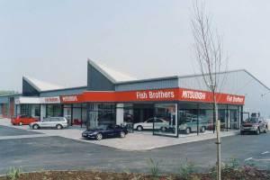 C089 Mitsubishi Car Showroom, Swindon, photo supplied by Kier