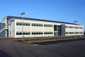 Stirling House, Plot 10a South Marston Industrial Estate, photo courtesy of Kier.