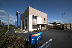 New Mental Health Unit, Great Western Hospital, photo courtesy of Kier
