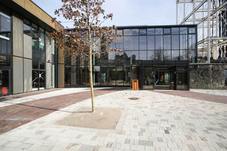 UTC Swindon, photo supplied by BAM Construction