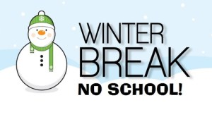 Winter Break banner