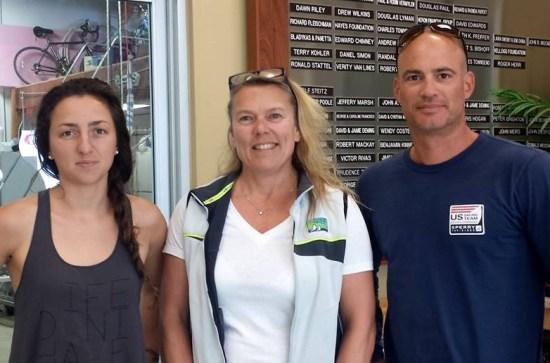 Sarah Newberry, Dawn, and John Casey