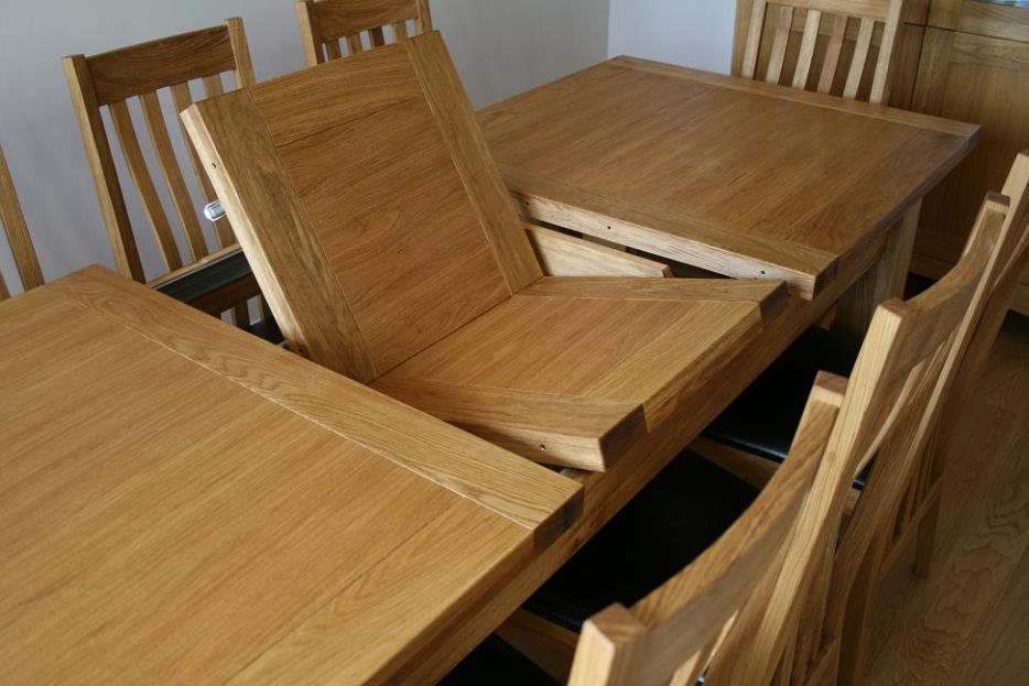 Dining Table Extension Mechanism