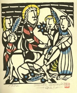 The Triumphal Entry by Sadao Watanabe
