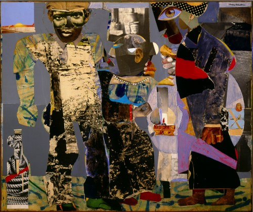 """The Return of the Prodigal"" by Romare Bearden"