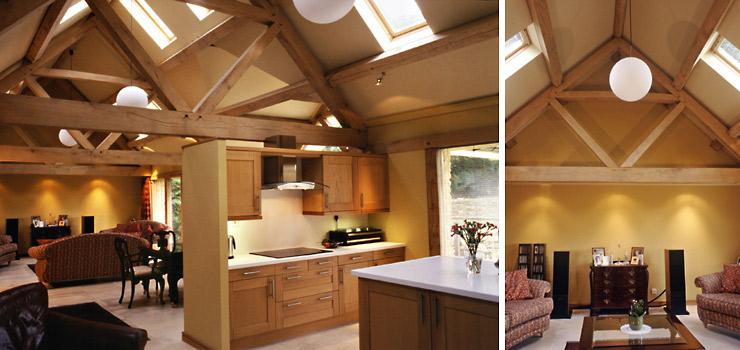 Oak Frame Carpentry Company England Timber Framed Extensions To Period And Modern Houses
