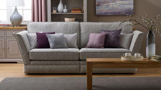 Carrington Fabric Sofas Modern Traditional Oak Furniture Land