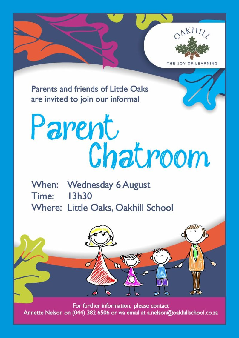 Parent Chatroom Poster