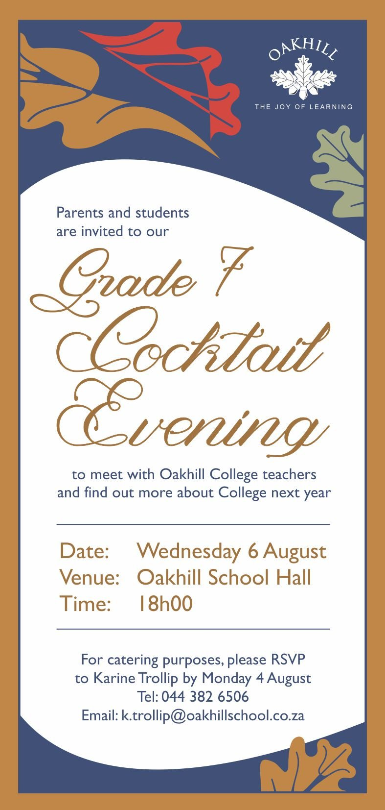 Gr 7 Cocktail Function